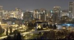 Portland Cityscape Night ( long exposure )