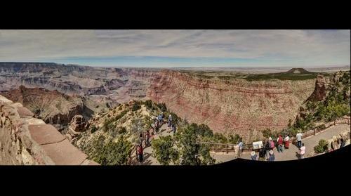 Desert View Watchtower lookout