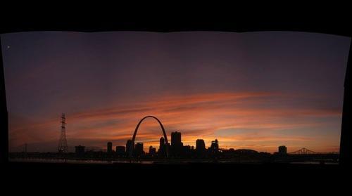 St Louis Sunset 7-16