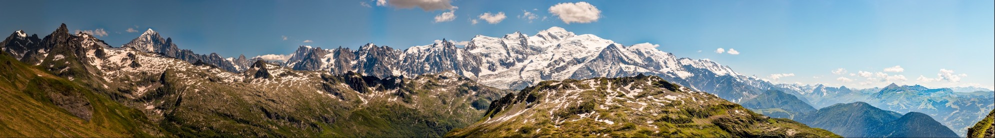 Col d'Anterne - Massif du Mont Blanc