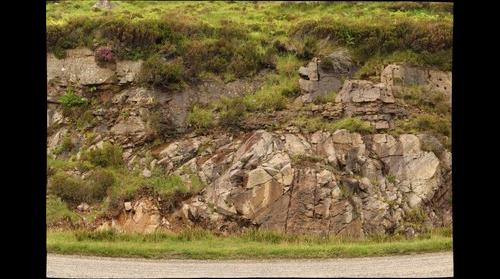 Sub-Torridonian unconformity, North-West Highlands, Scotland