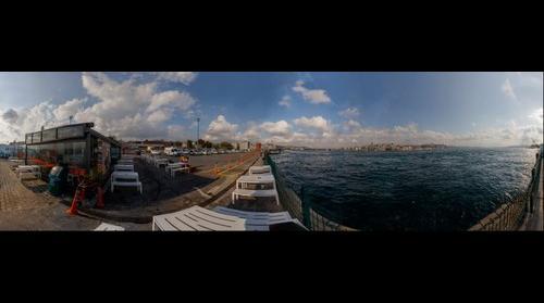 Istanbul - 360 degr. panorama