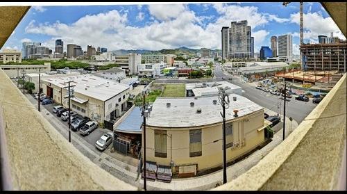 Honolulu view from Kaka'ako