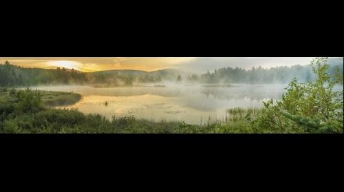 Butterfield Pond at Sunrise