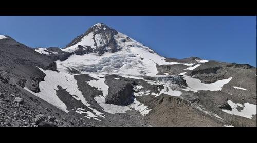 Mt Hood Coe Glacier