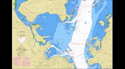 Rio do Janeiro nautical map