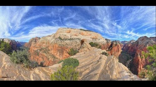 Dreamscape: Angels Landing #5, Zion National Park, UT