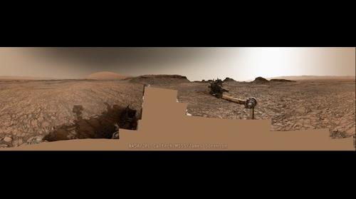 MSL Curiosity Sol-1421 Mastcam 360