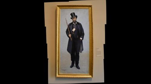 Paul Hugot's Portrait by Gustave Caillebotte - Museum of Fine Arts Houston