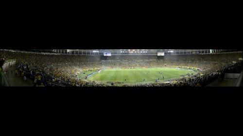 MARACANA BRASIL x ESPANHA FINAL