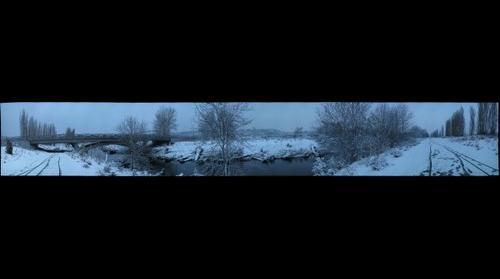 1st Snow 2007, Sammamish River Trail, Redmond, Washington