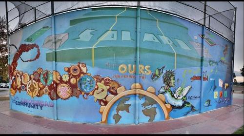 Solari Park Mural