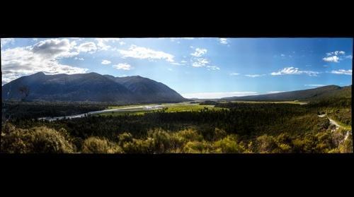 Martyr Saddle - New Zealand