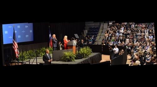 Jill Biden, Second Lady of the United States of America - The White House Cancer MoonShot: Collaborating to End Cancer - Rice University