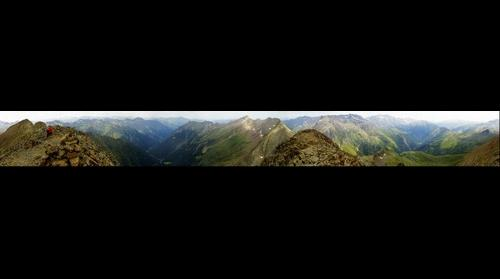 Gigapan desde la cima del Pico Culfreda