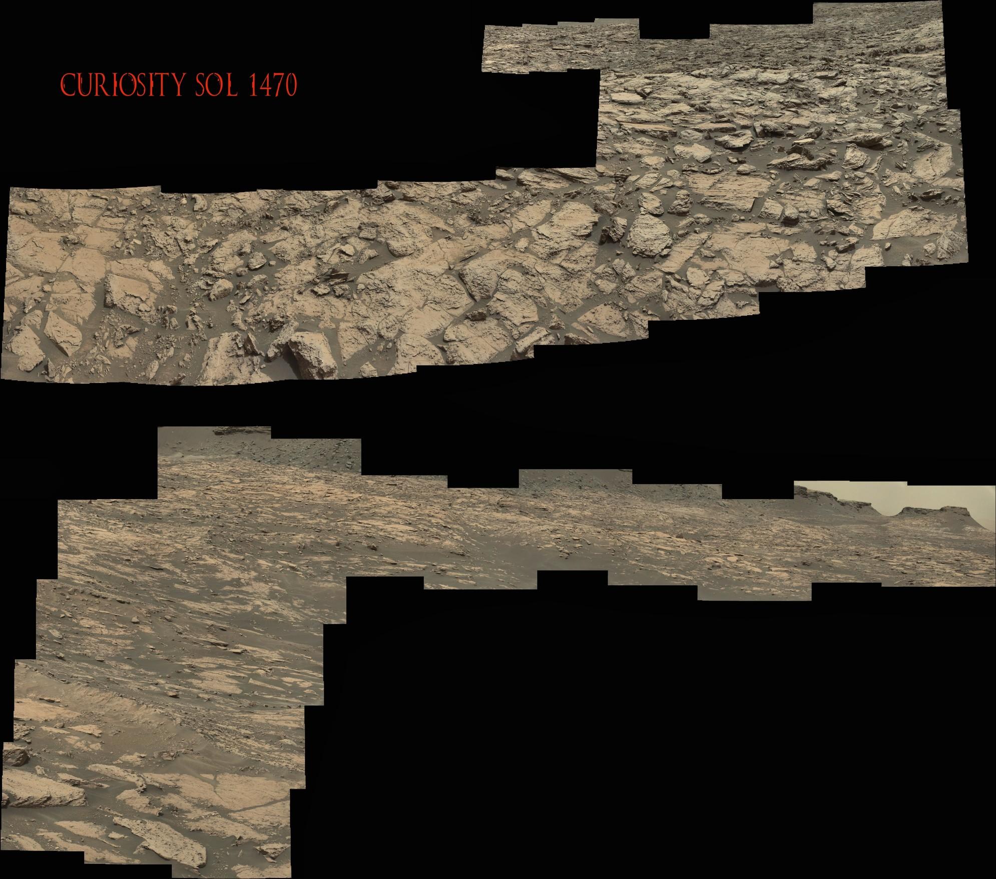 Curiosity Sol 1470