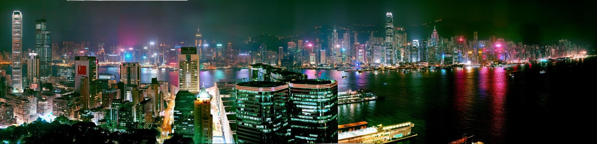 Hong Kong in 5 Gigapixel