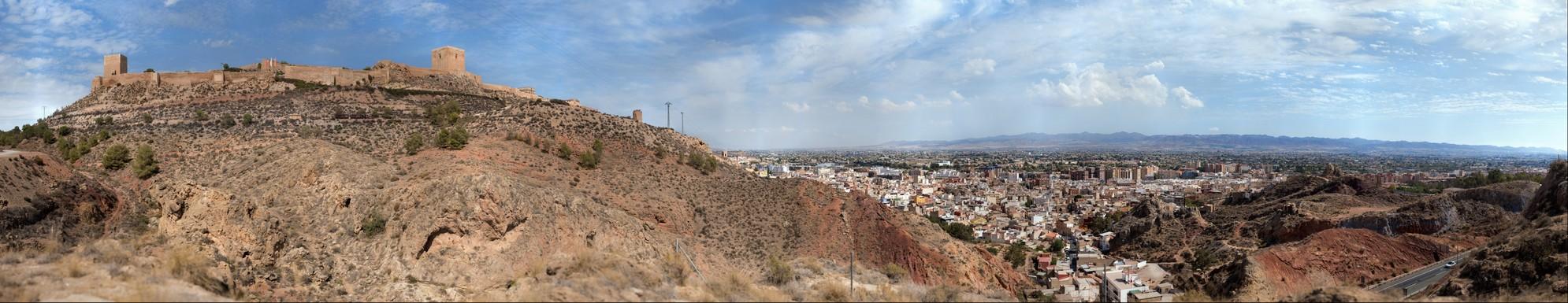 "Spain - Lorca ""Fortress of the Sun"""