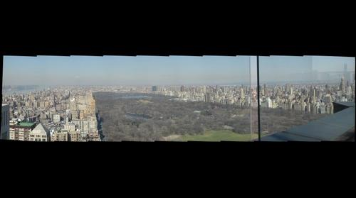 Central Park facing north