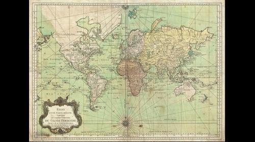 Globe Terrestre 1778