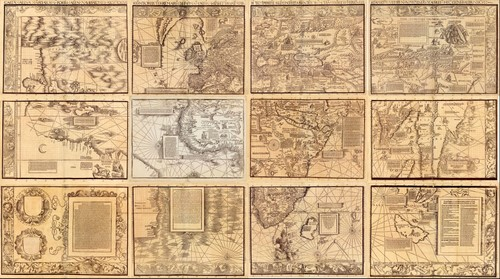 Waldseemuller's Carta Marina (1516)