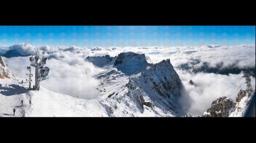 Zugspitze West View