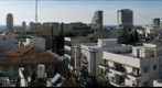 Tel Aviv from Shenkin Street apartment balcony