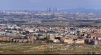 Panoramica de Madrid desde el Cerro del Viso.