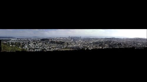 San Francisco Twin Peaks Panorama