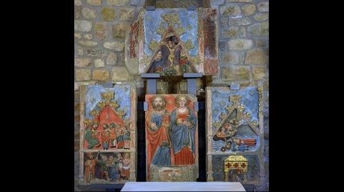 Retaule de Sant Iscle i Santa Victòria