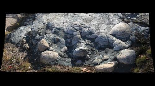 Glacially-Polished Gowganda Tillite
