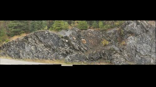 Stretched Boulder Metaconglomerate