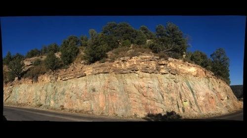 Gallinas Canyon Nonconformity