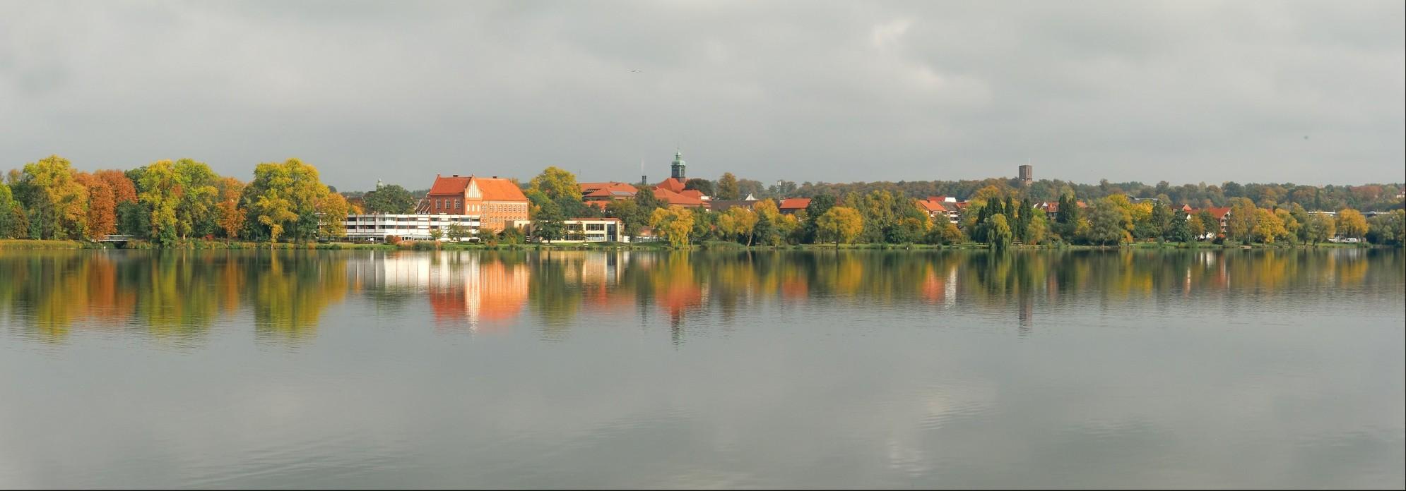 Inselstadt Ratzeburg, südlicher Inselrand