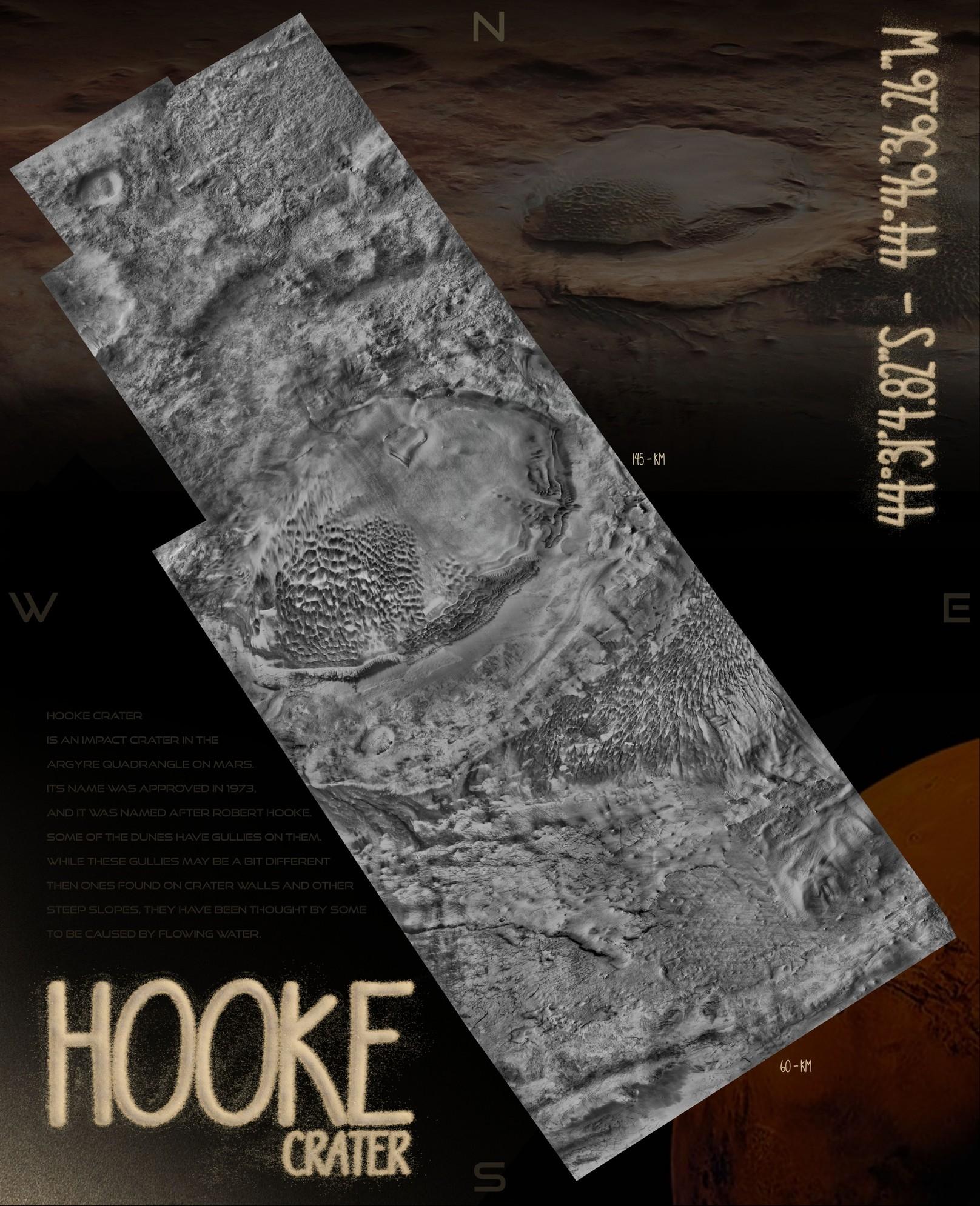 HOOKE CRATER