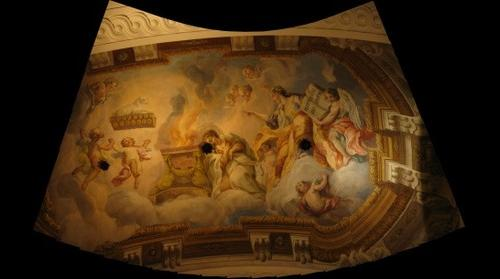 St. Karl's Church, Ceiling painting