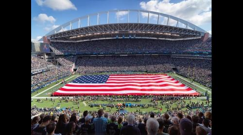 Seahawks 9/11 tribute