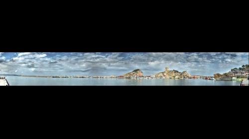 Sile - Istanbul - Turkiye  HDR 180° panorama