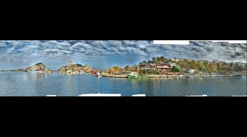 Şile - İstanbul - Turkiye HDR 160° Panorama