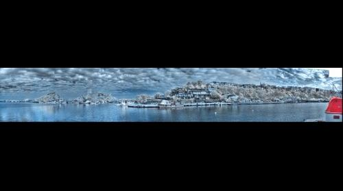 Şile - İstanbul - Turkiye INFRARED 720 nm HDR 160° Panorama
