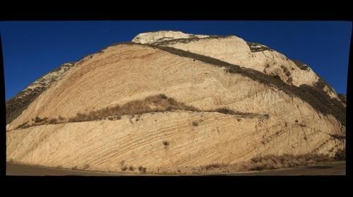 Miocene Monterey Shale, Near Lompoc, California