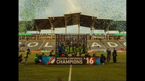 Sounders FC win the 2016 MLS Western Conference Championship