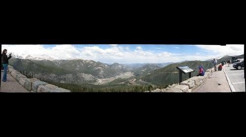 Rocky Mountain Park canyon