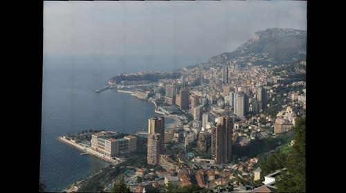 Monaco from Hotel Vista Palace
