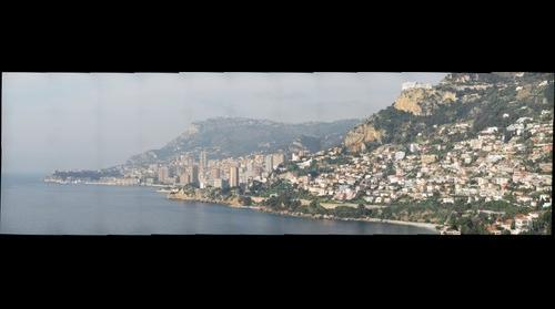 Monaco, La Turbie, Roquebrune