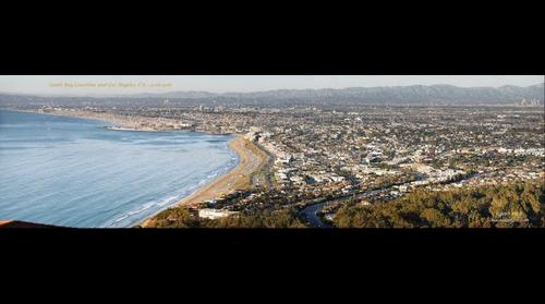 South Bay Coastline, Redondo, Hermosa, Manhattan Beach and Los Angeles California