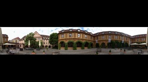 Wuerzburg - Buergerspital - Yard