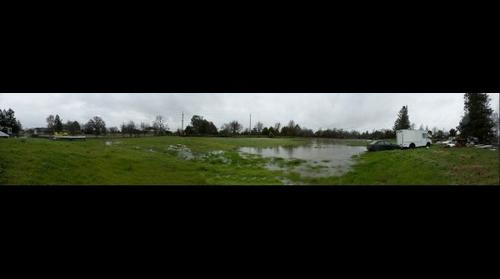 Flooded Fields at Home Jan 2017