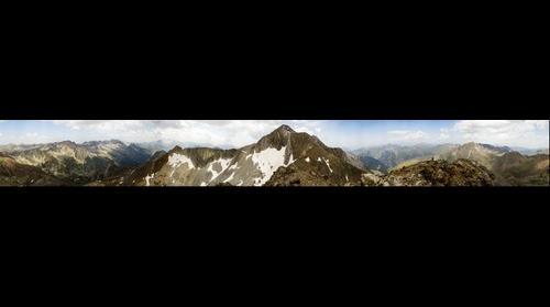 Gigapan desde la cima del Pico Veteranos o Gemelos Norte