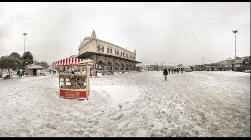 Snow in Istanbul-02 Kadikoy